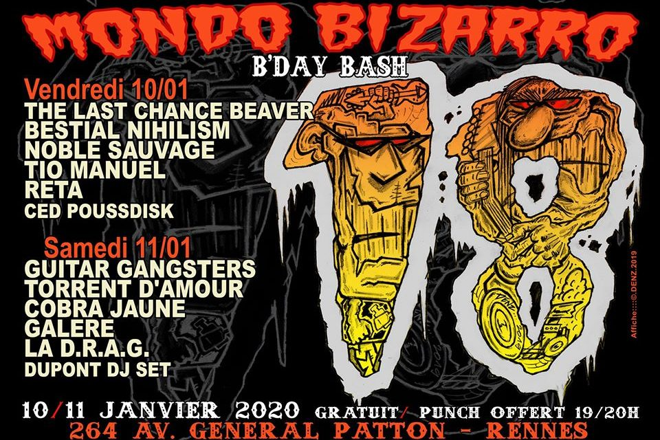 Mondo Bizarro B'day Bash #18